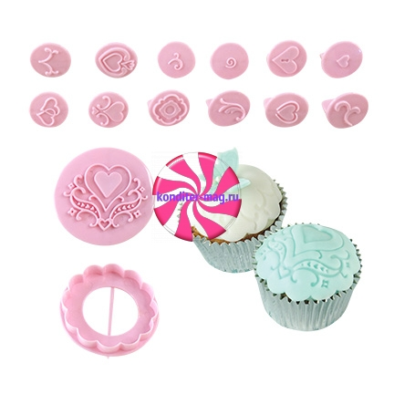 Набор Cupcake Decorating 14 pc