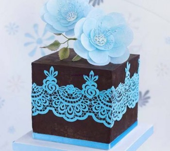 Cake Flower Lace mat